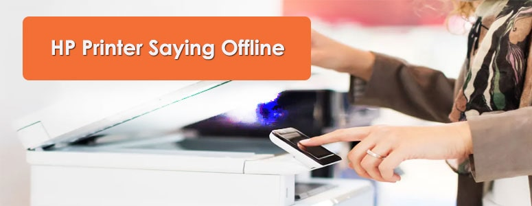 HP Printer Saying Offline