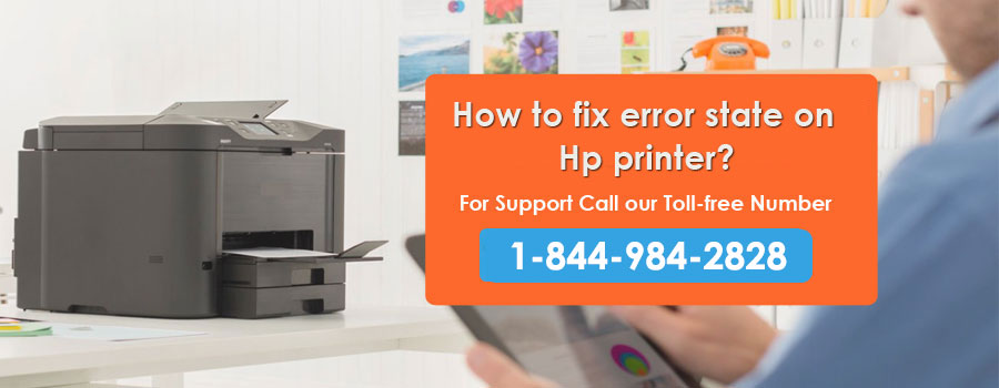 How to Fix Error state on HP Printer?