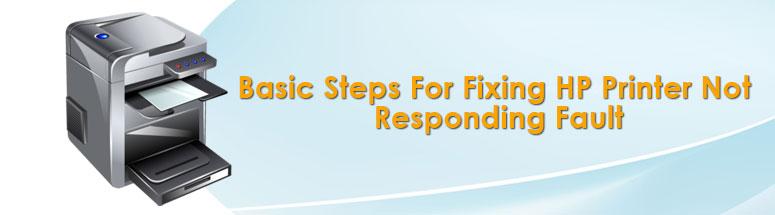 Basic Steps For Fixing HP Printer Not Responding Fault