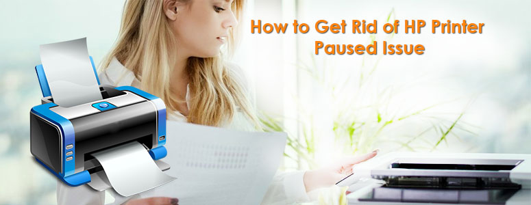 How to Get Rid of HP Printer Paused Issue