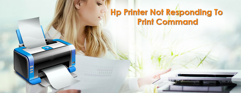 Hp Printer Not Responding To Print Command