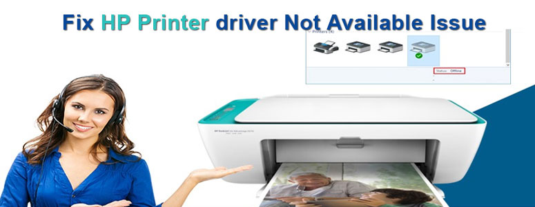 Fix HP Printer Driver Not Available Issue